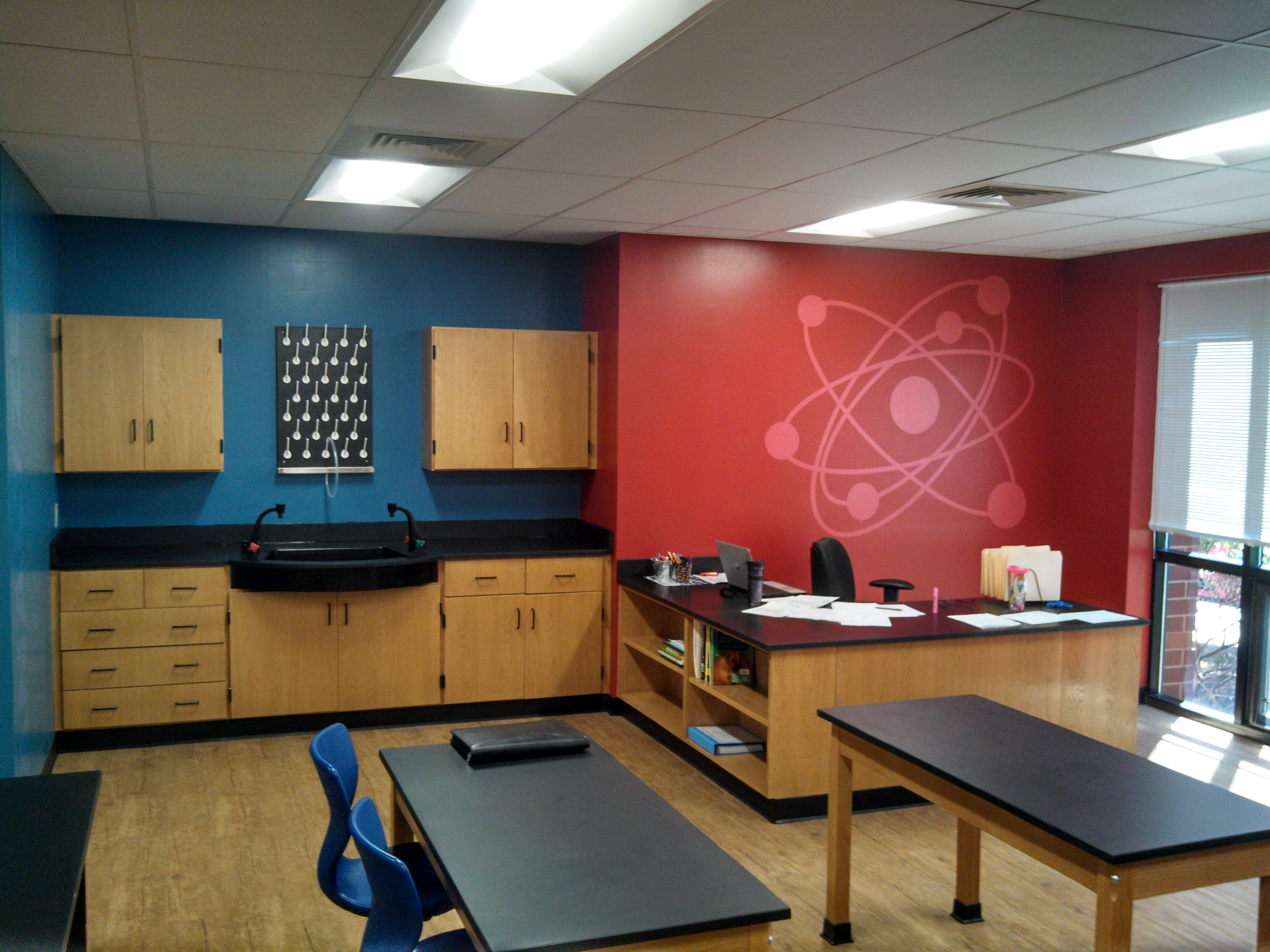 Hickory Grove Christian School Nc Interior Design Science Lab  # Muebles Hickory