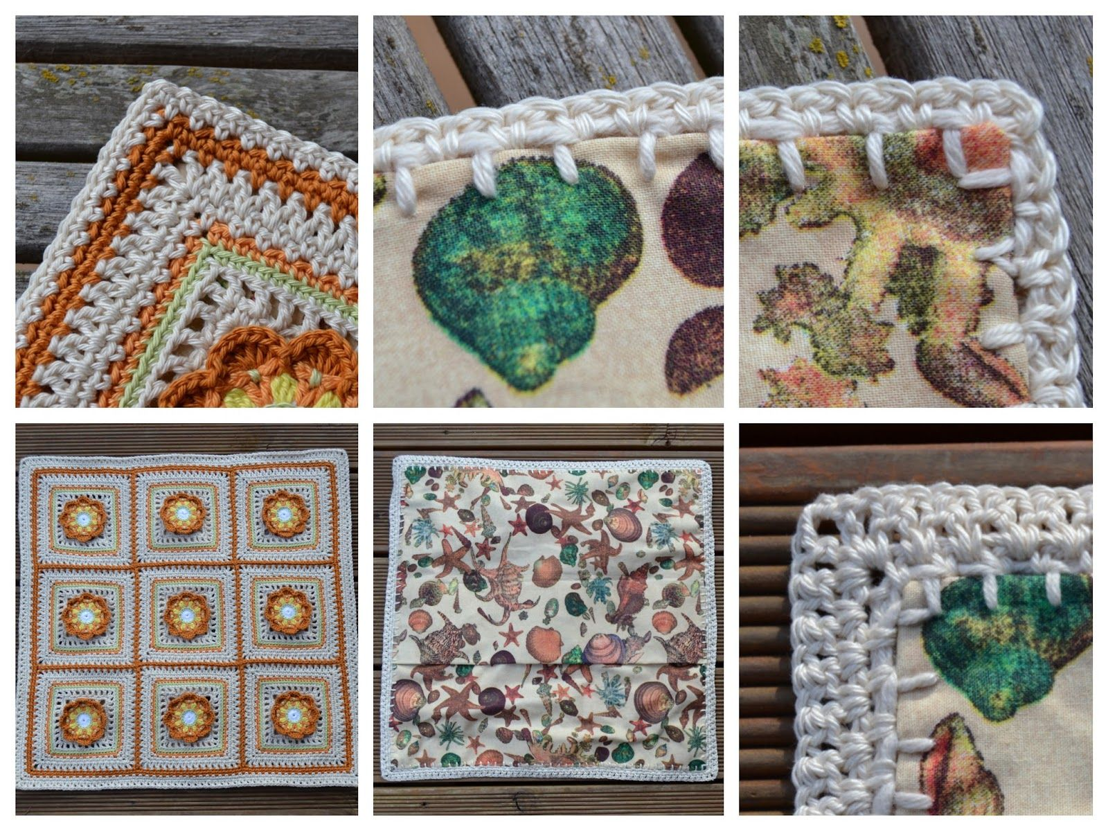 Atelier Marie-Lucienne: Scrappy Flower Granny Variation #2 - Resteblumen-Grannies-Variation Nr.2