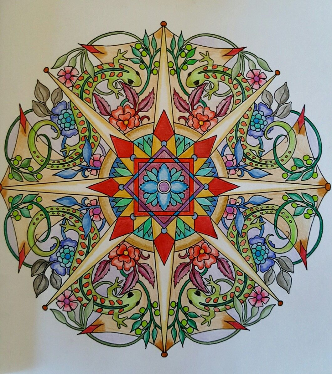 Colores Energia Mandala