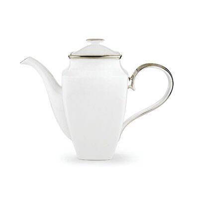 Lenox Solitaire Square 7.25 Cup Coffee Server with Lid Color: White #coffeeserver