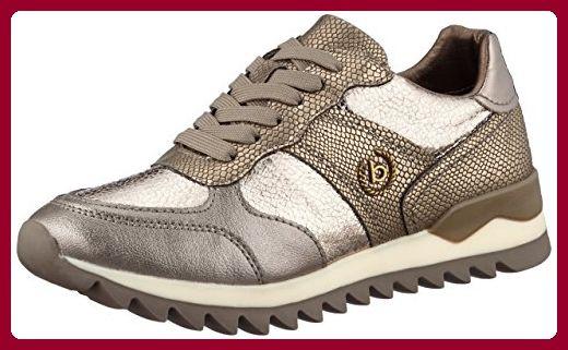Bugatti Damen 422276015050 Sneaker, Braun (Metallic Taupe