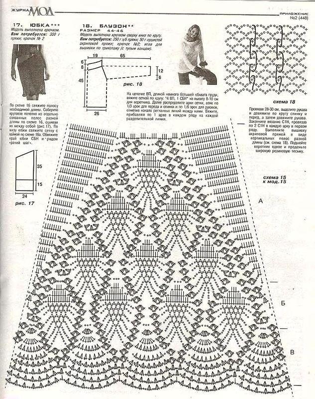 матки вязание платьев юбок пальто фото схемы отметил