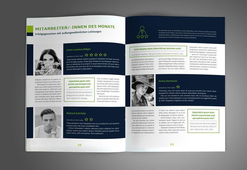 Layout Vorlagen Mitarbeiterzeitung Betriebszeitung Vorlagen Buch Design Zeitung