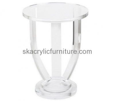 dd6a7e8ae8a3 Custom design acrylic transparent coffee table small round coffee table  acrylic furniture for sale AT-129