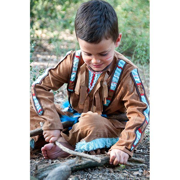 54f9a8f37 Disfraz de indio para chico talla 8