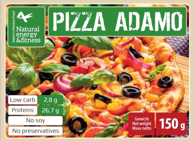 Eindelijk weer eens genieten van een heerlijke pizza. Met de koolhydraatarme pizza mix van Adam's kan het! Met de Adam's Pizza á la Adamo kan u snel en niet al te ingewikkeld zelf een heerlijke koolhydraatarme pizza maken.