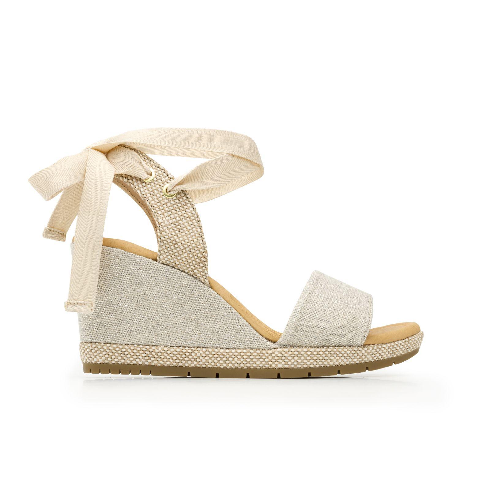 Mujer Zapatos Cuero de Cerdo Primavera verano Tira en el Tobillo Sandalias  Tacón Plano Puntera abierta 92d1a7c7c581
