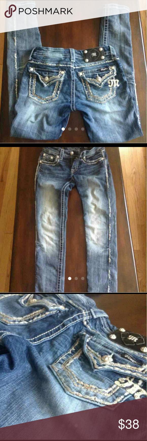 Miss me cuffed skinny Size 26 28 inseam Cheaper deal on m e r c a r i Miss Me Pants
