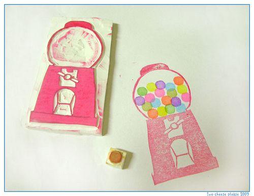 so cute! gumball machine