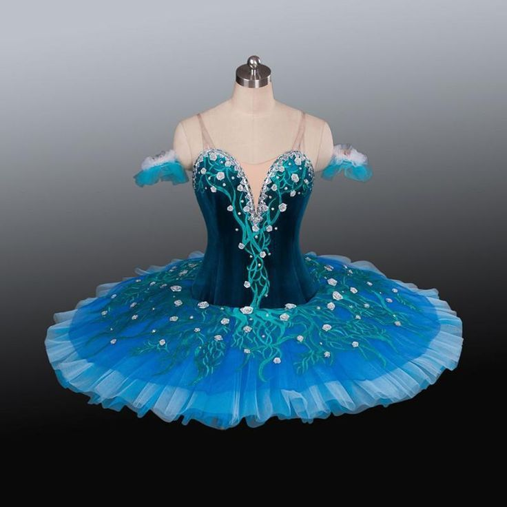 New arrival velvet top bodice professional ballet tutu girl stage performance ballet costume ballerina competition ballet tutu : blue ballerina costume  - Germanpascual.Com