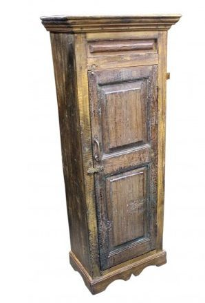 Solid Wood Small Curio Cabinet