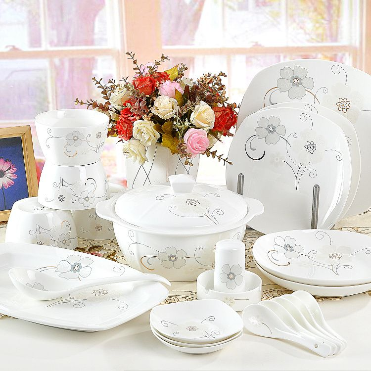 Cheap plate registration Buy Quality tableware set directly from China plate grinder Suppliers 56 pieces ceramic dinnerware set bone china tableware bowl ... & 56 pieces ceramic dinnerware set bone china tableware bowl dish ...