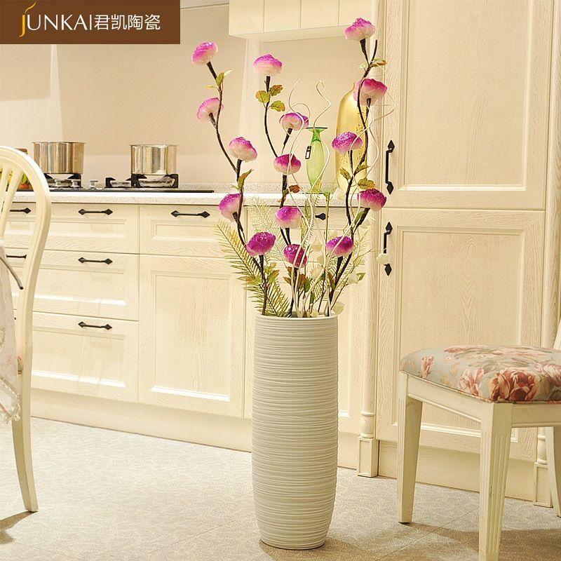Large Modern Floor Vases White Fashion Modern Brief Fashion