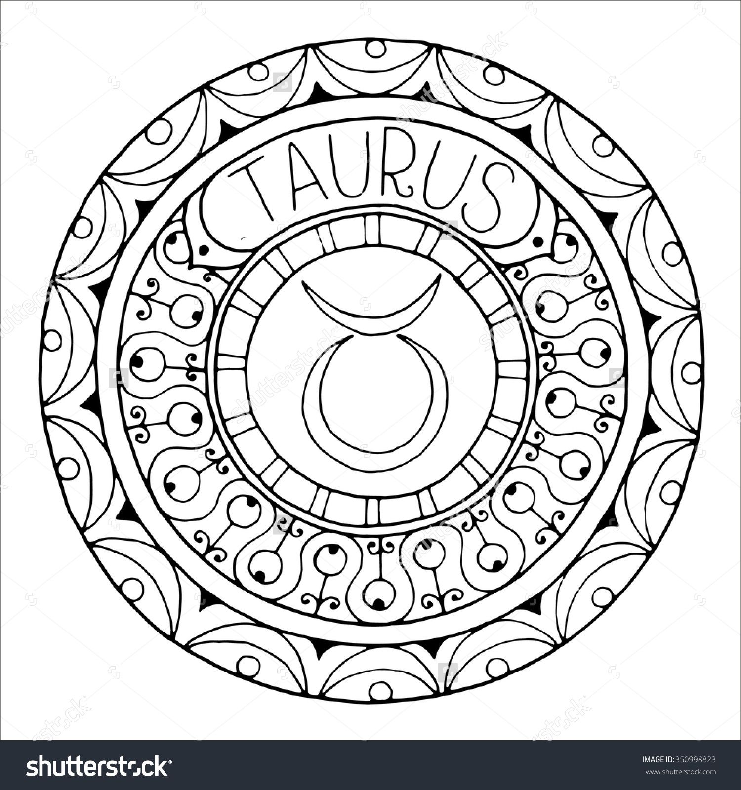 cfc47fcf7 Astrology Adult Coloring Book