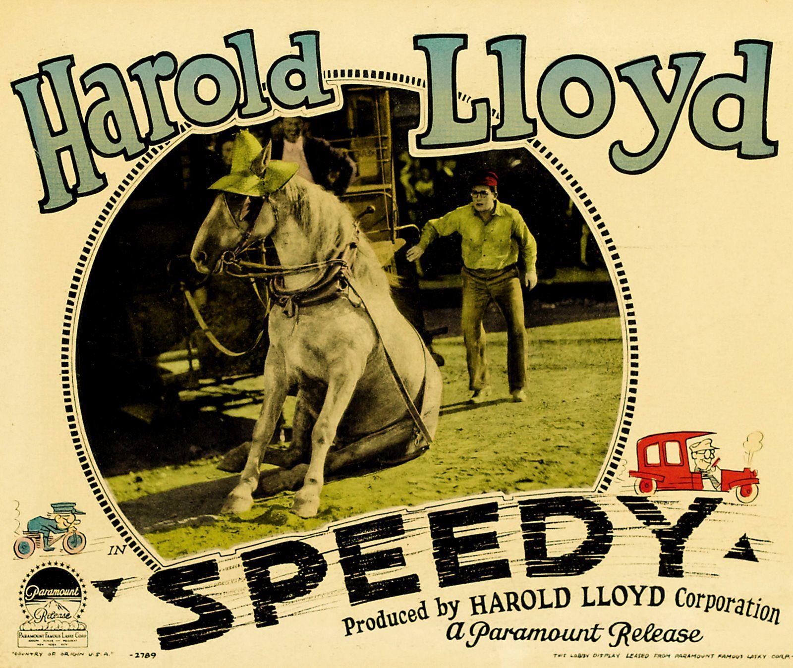 Speedy 1928 | Lobbycards... | Pinterest