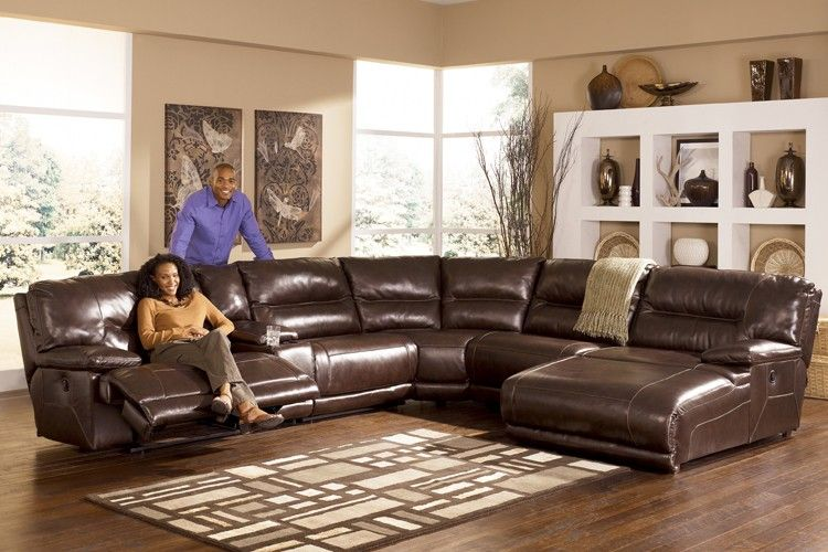 signature exhilaration 6 piece sectional chocolate sectionals raleigh furniture home comfort - Home Comfort Furniture Raleigh