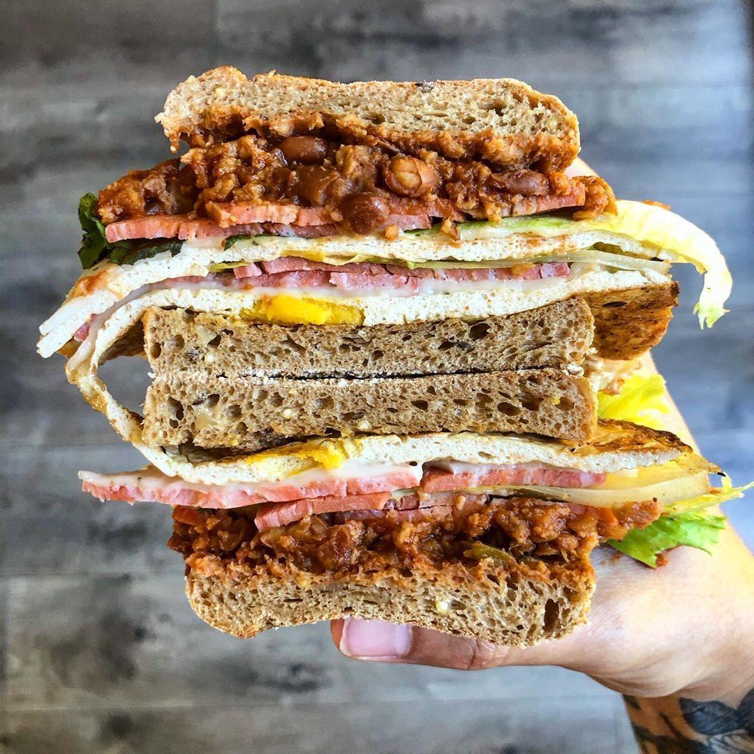 Homemade ttla sandwich recipe delicious vegan recipes