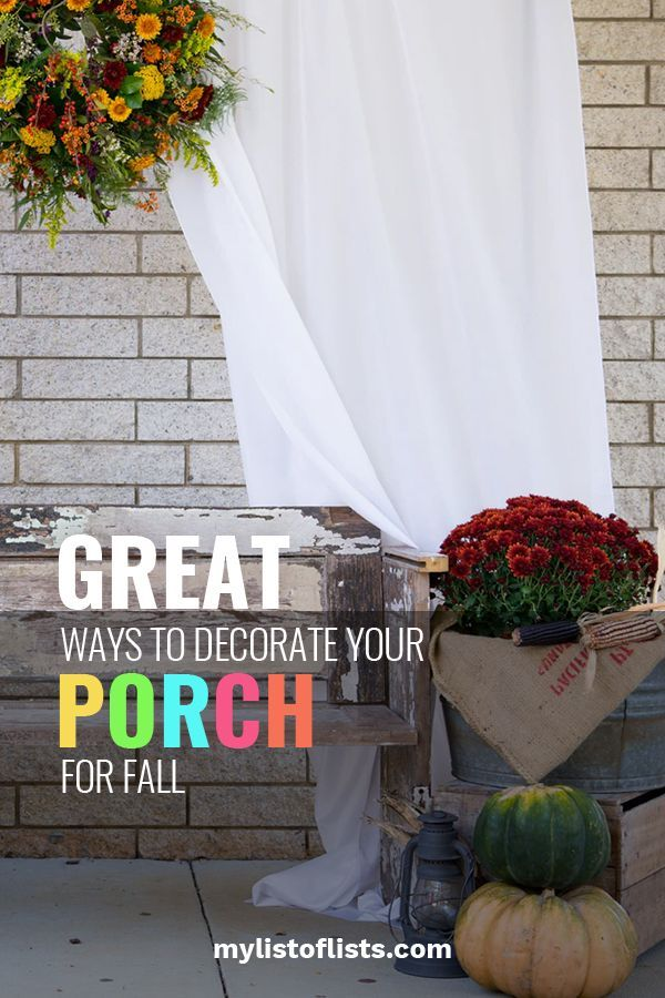 great ways decorate porch