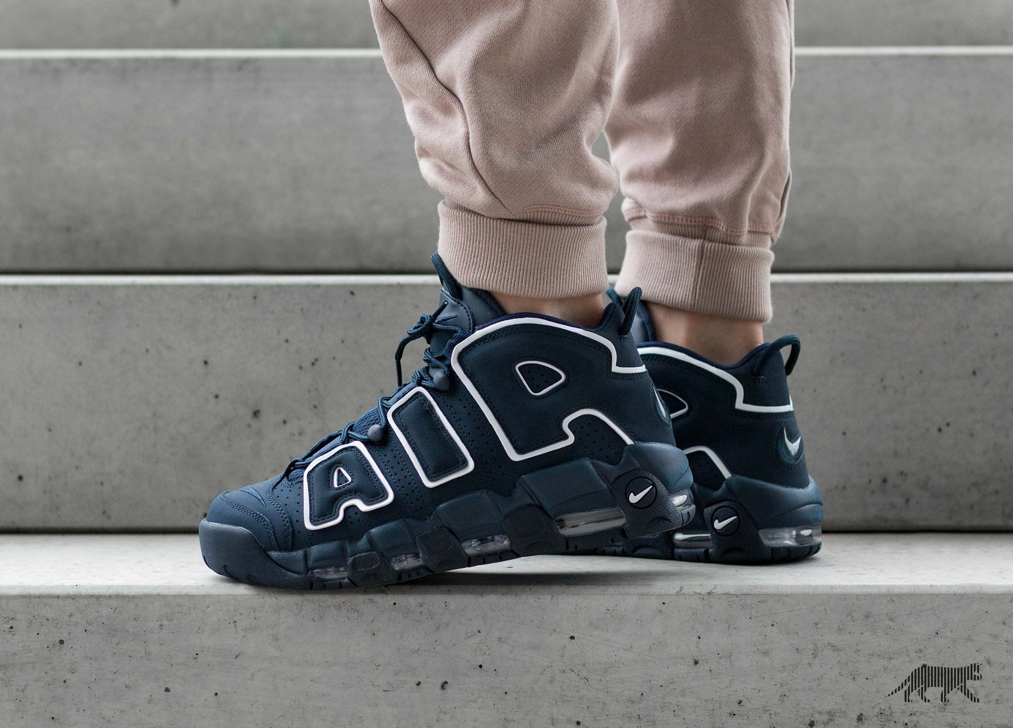 f2d9d9f303 Nike Air More Uptempo: Obsidian | shoes | Shoes, Shoes sneakers, Nike