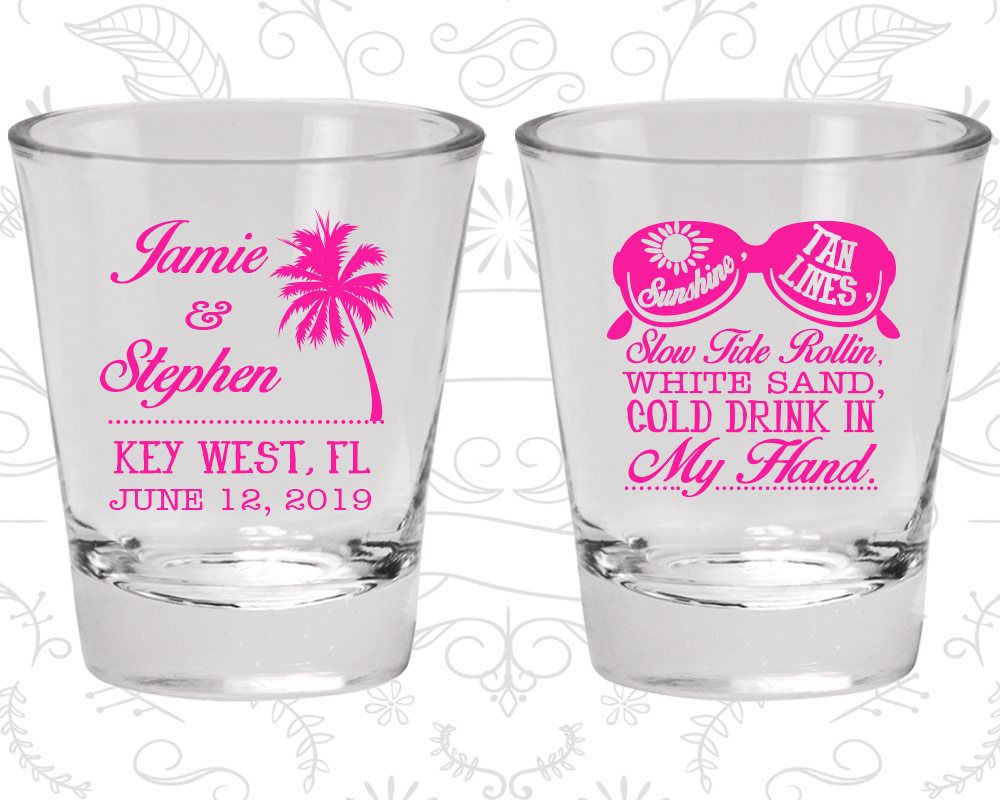 Wedding Favor Shot Glasses, Personalized Shot Glass, Shot Glasses ...