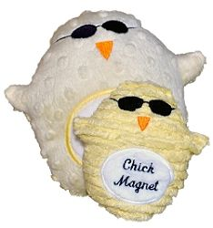 In The Hoop, Chick Magnet Softie - 2 Sizes! | Baby | Machine Embroidery Designs | SWAKembroidery.com Pickle Pie Designs