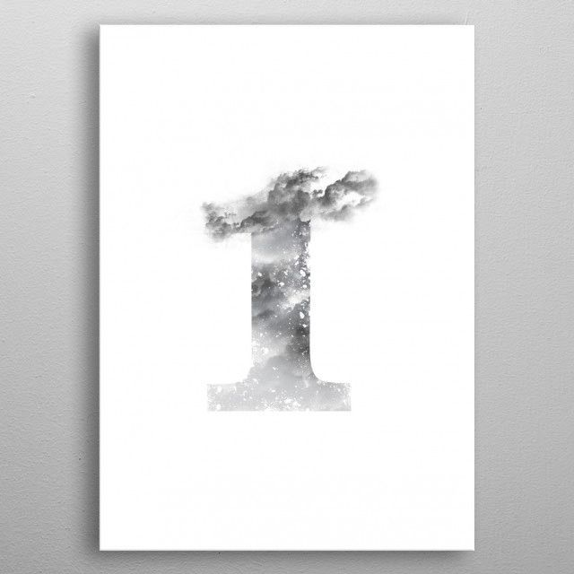 Number one by Axel Savvides   metal posters - Displate   Displate -   Displate thumbnail