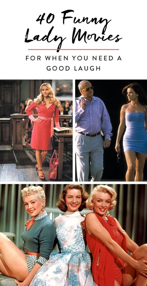 40 Funny Lady Movies for When You Need a Good Laugh #moviestowatch