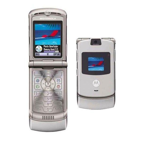 Motorola Razr V3 Silver Images Motorola Razr V3 Silver Cell Phone Images Found On Polyvore Motorola Razr Motorola Cell Phones Lg Cell Phone Cases