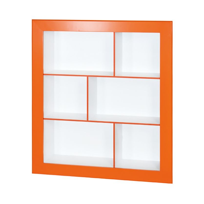 regal frame ii - orange/weiß, phoenix jetzt bestellen unter: https ... - Wohnzimmer Orange Weis