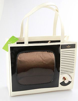 Kate Spade Tower Avenue TV Quinn Clotted Cream Handbag WKRU2397 Authentic | eBay