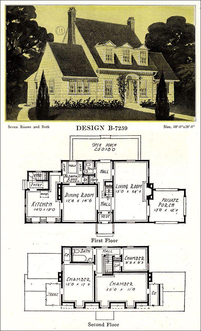 Modern Colonial Revival - 1918 u2013 C L Bowes Co - Chicago 1800u0027s - fresh blueprint builders seattle