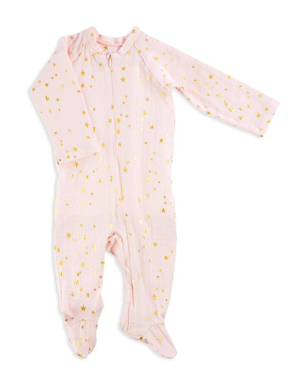 0bf3b1853c83 Aden and Anais Infant Girls  Star Print Footie - Sizes 0-9 Months ...
