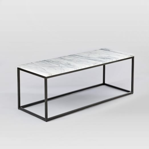 Box Frame Coffee Table Marble Antique Bronze Modern Glass Coffee Table Coffee Table Narrow Coffee Table