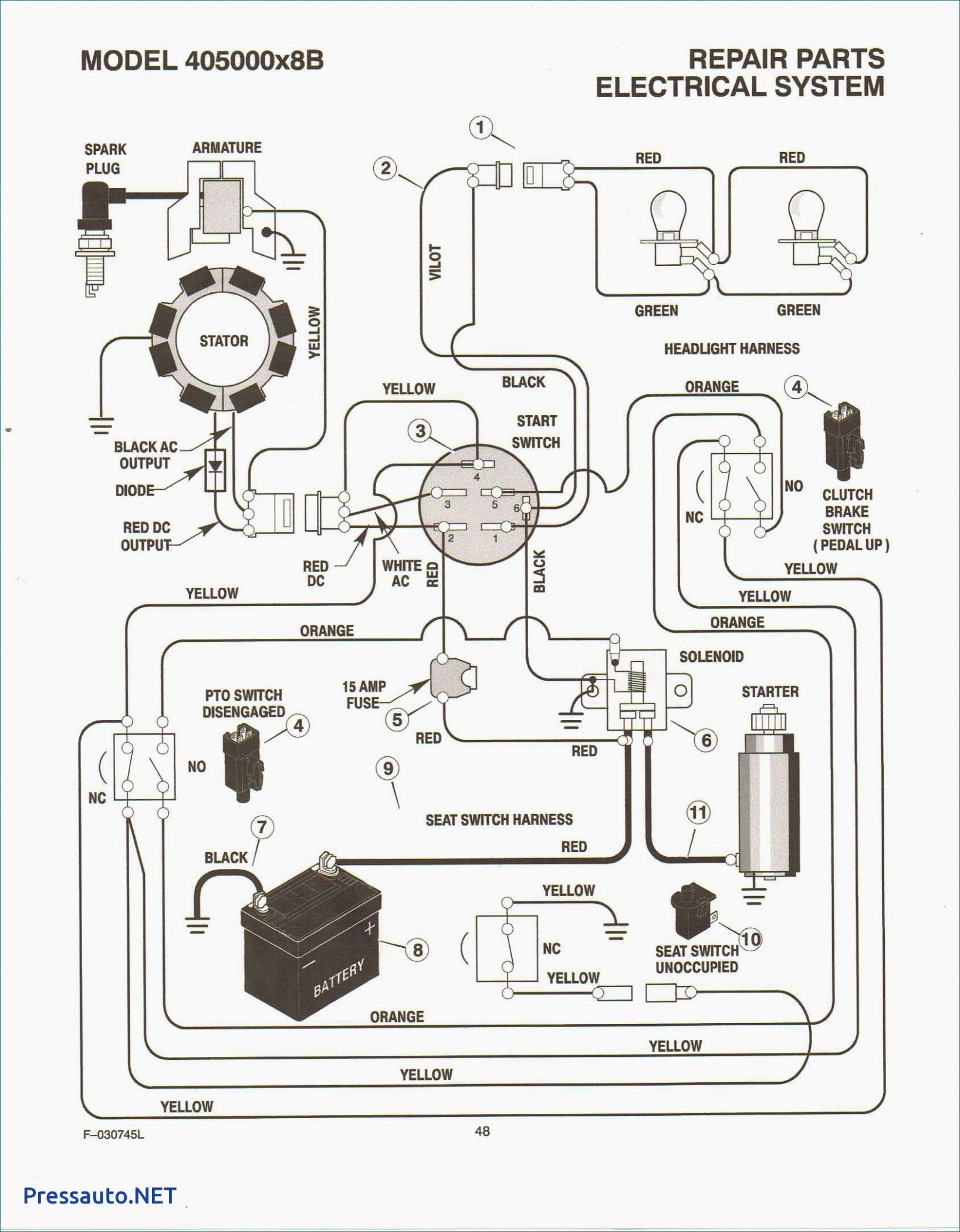 Simple Small Engine Wiring Diagram In