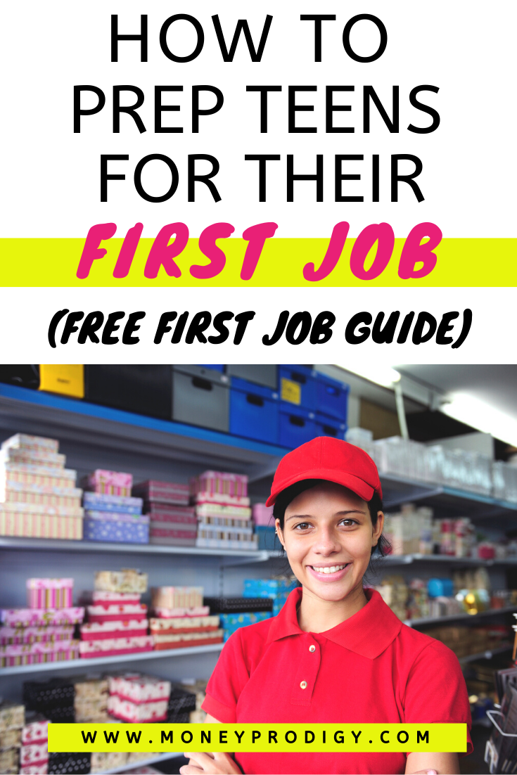 How to Prepare for Your First Job as a Teenager