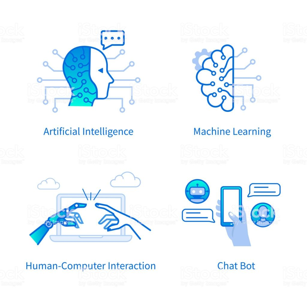 Technology Concept Machine Learning And Artificial Intelligence