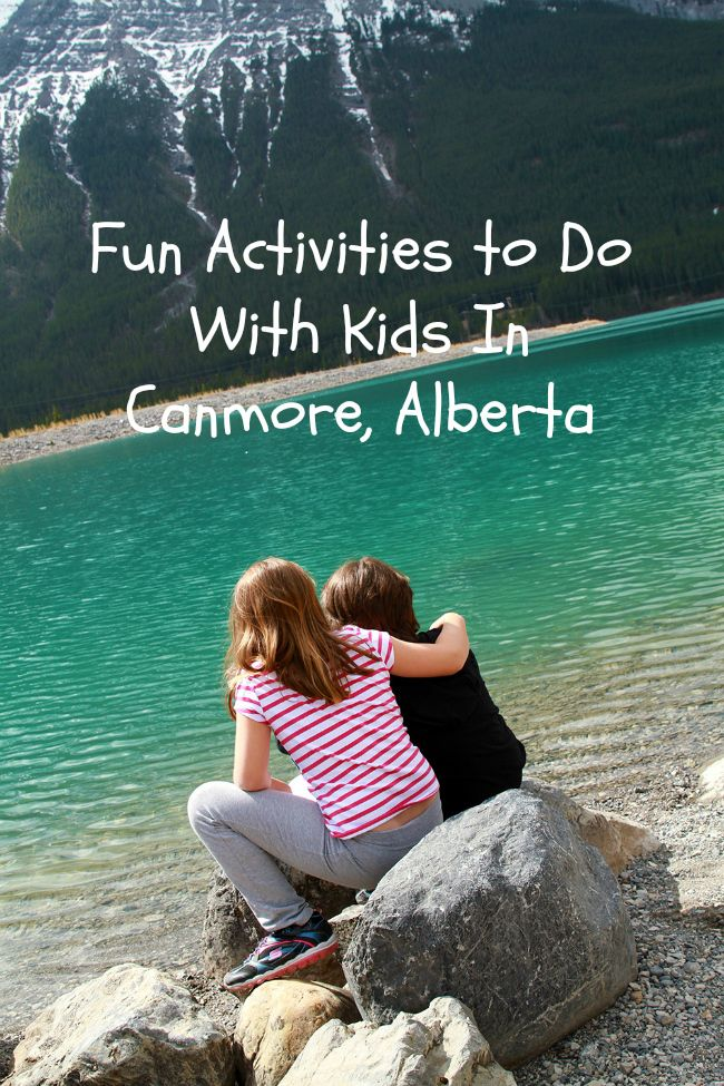 Fun things to do in Canmore, Alberta with your kids when you travel.
