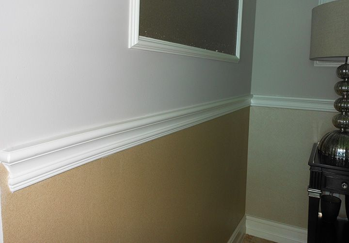 chair rail moulding ideas