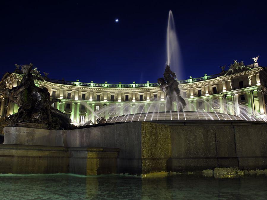 Rome - Naiadi Fountain