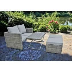 Harms Garden Pleasure Fernando Loungegruppe grau Harms #apartmentpatiogardens