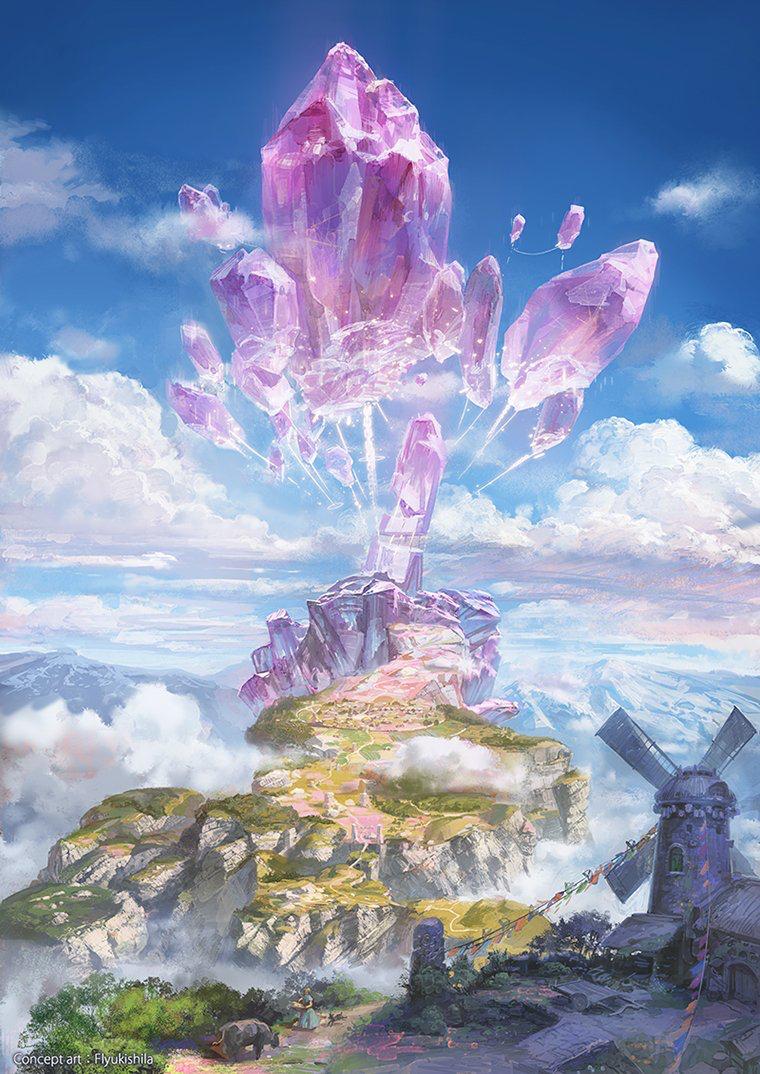 Scenery Fantasy Art Landscapes Fantasy Concept Art Fantasy Artwork