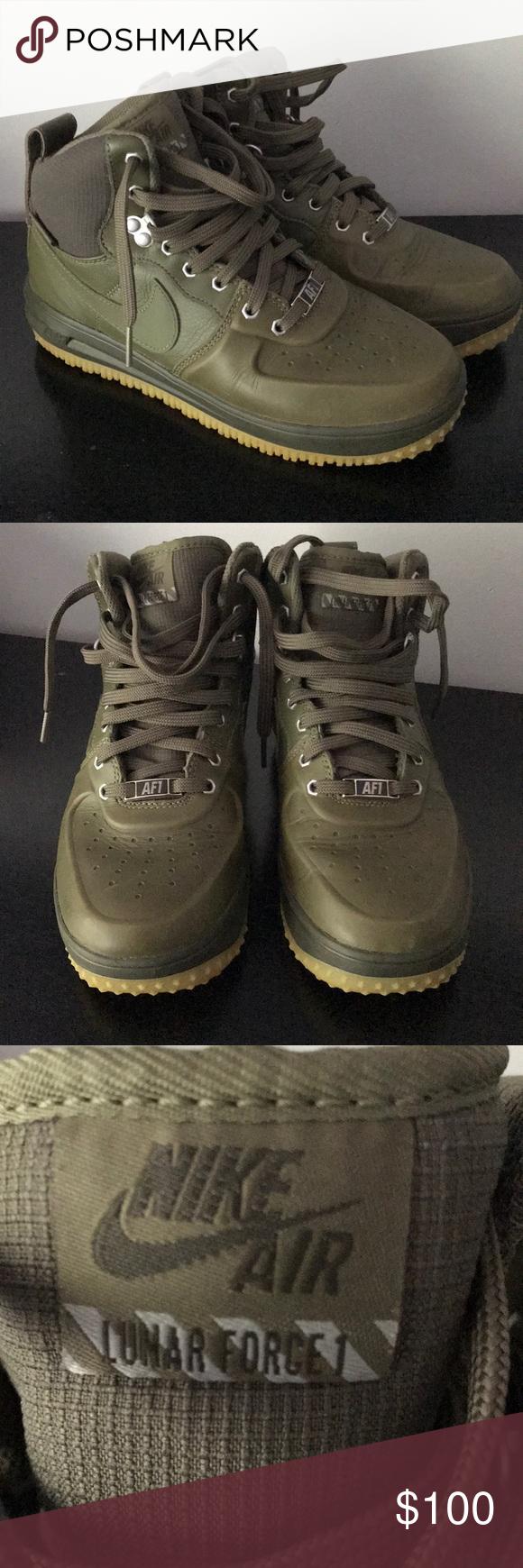 734acf7fbcff Nike Air Force One AF1 Lunar Force 1 Boys Size 6 Y Nike Air Force ...