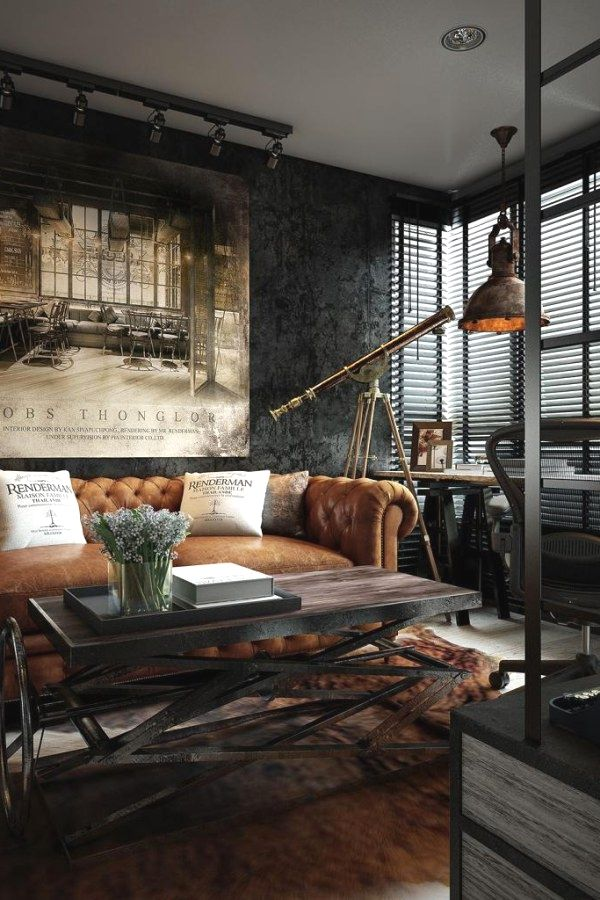 10 Awesome Urban Industrial Decor Ideas For Your Urban Living Space Urban I Interior Design Apartment Small Apartment Interior Design Small Apartment Interior