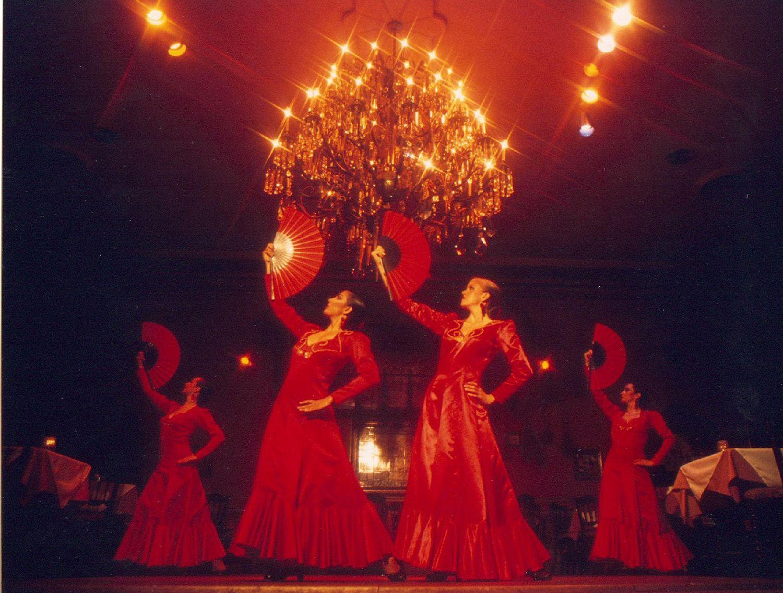 flamenco dancers Columbia Ybor City