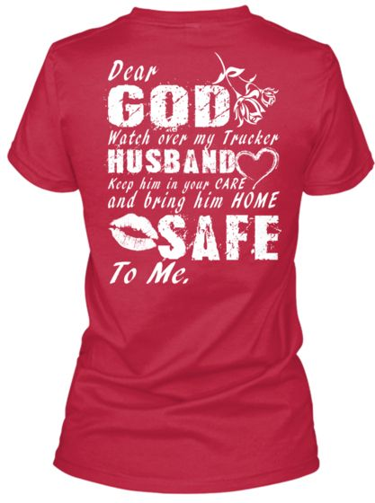 a7576e6b0cd Trucker Wife s Prayer Tee