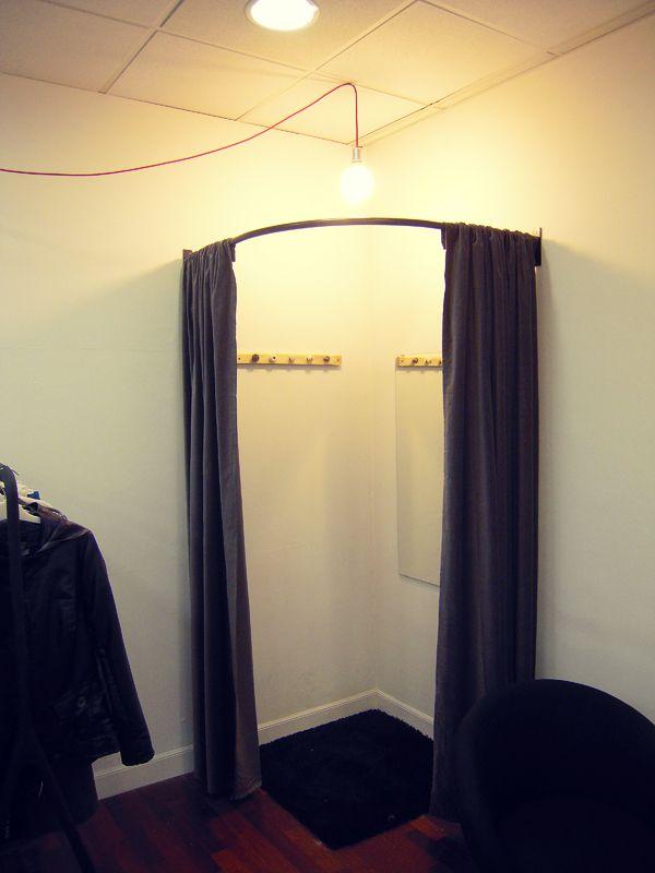 Probador facil de hacer probadores pinterest for Probadores de ropa interior
