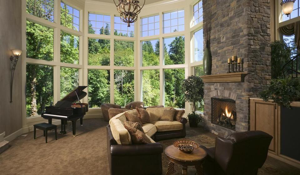 Eldorado stone manufactured stone veneer fireplace stone profile fieldledge stone color andante grout