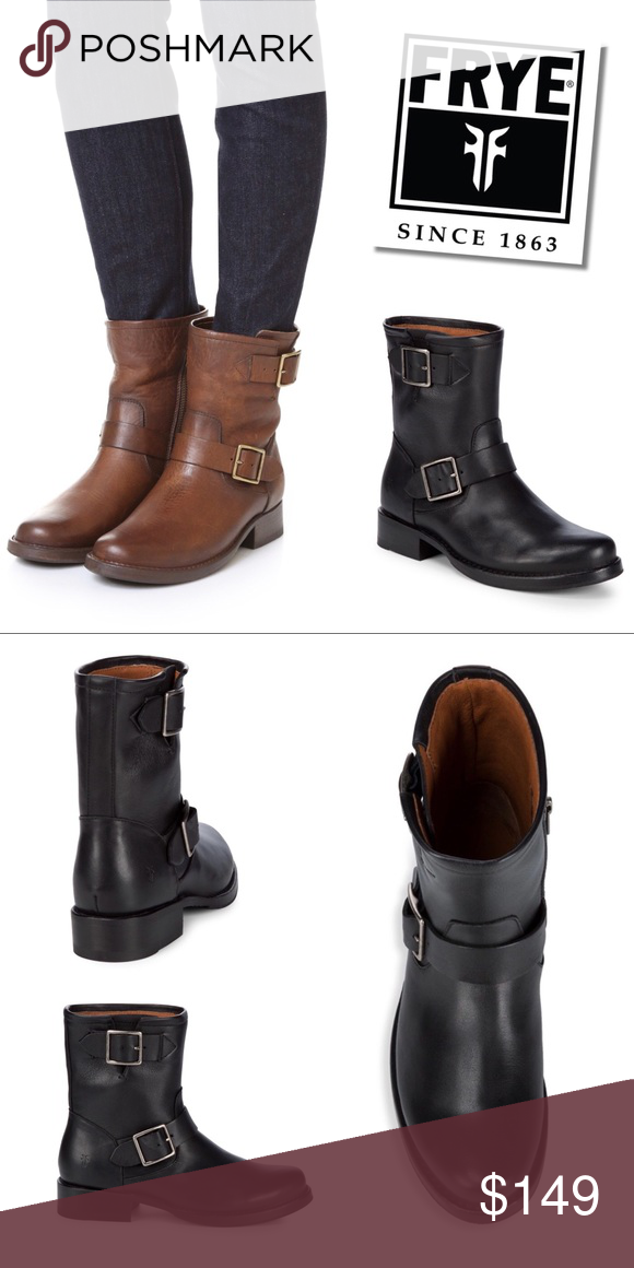 29769ae35cc Frye Vicky Engineer boots NWOT. Authentic Frye Vicky Engineer ...