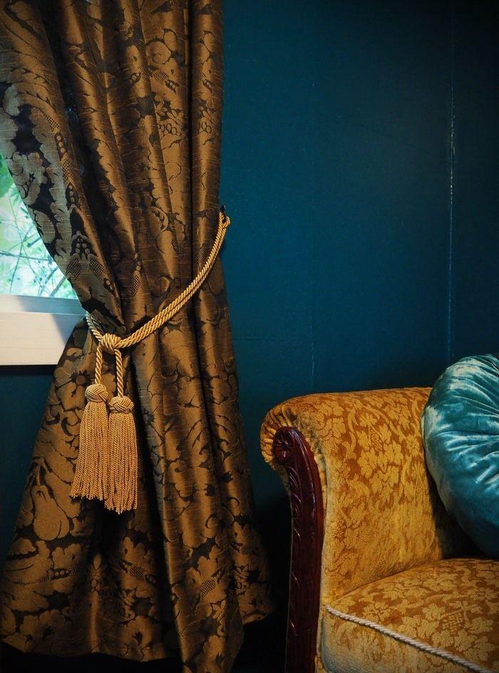 Vintage style curtains