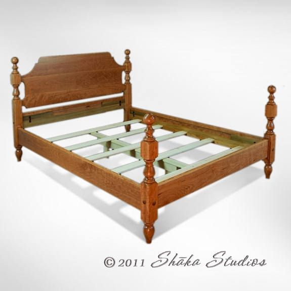 1830 Cherry Cannonball Bed | Products I Love | Pinterest | Reclaimed ...